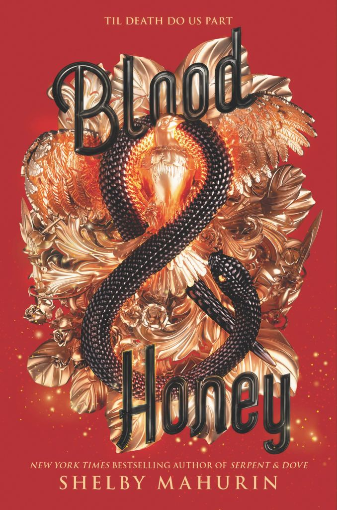 Blood and Honey by Shelby Mahurin book cover