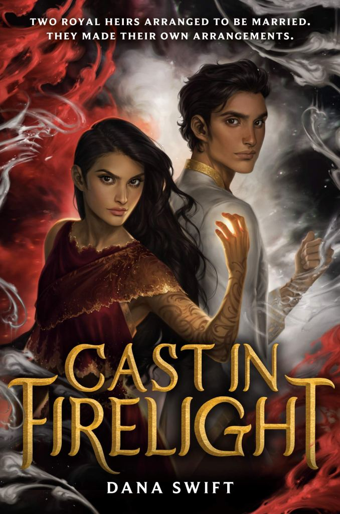 Cast In Firelight by Dana Swift book cover