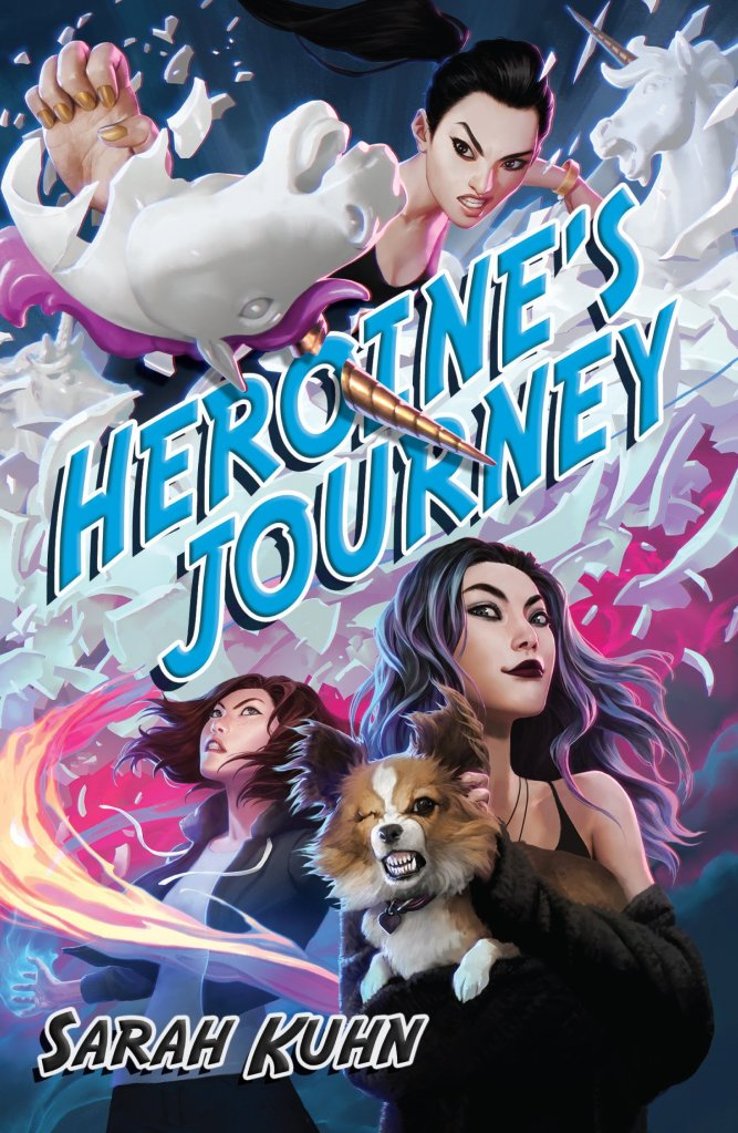 Heroine's Journey by Sarah Kuhn book cover