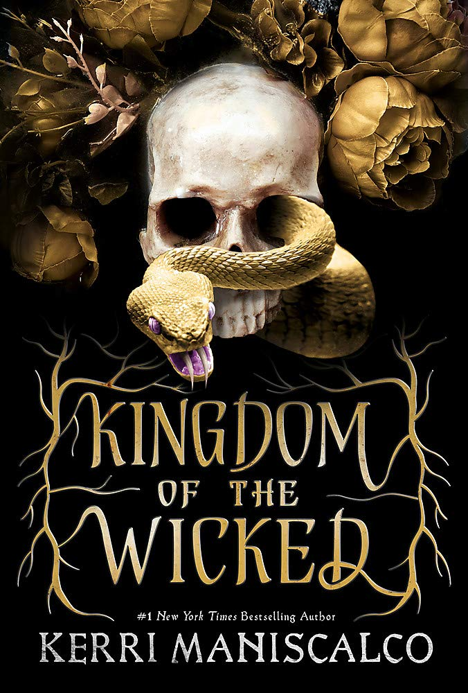 Kingdom Of The Wicked by Kerri Maniscalco book cover