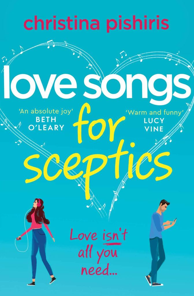 Love Songs For Sceptics by Christina Pishiris book cover