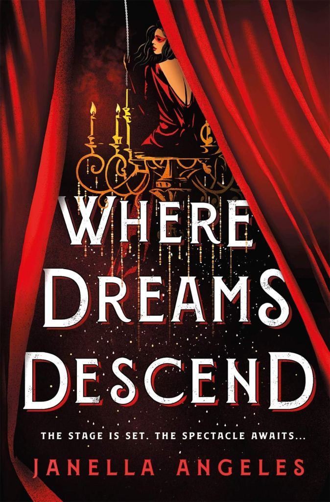 Where Dreams Descend by Janella Angeles book cover