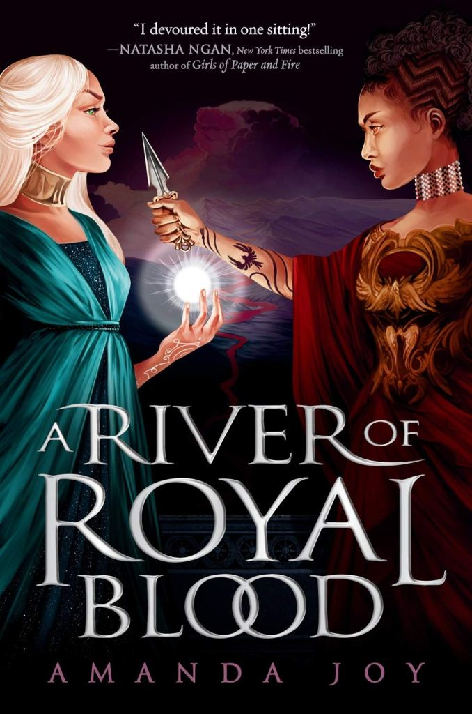 A River of Royal Blood by Amanda Joy book cover