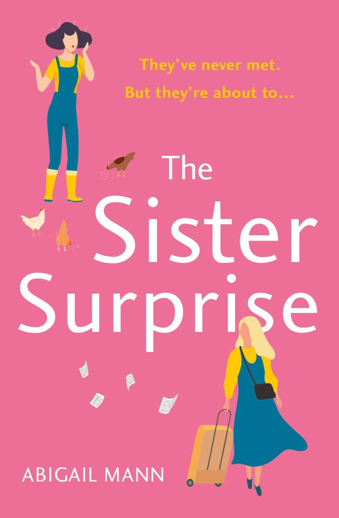 The Sister Surprise by Abigail Mann book cover