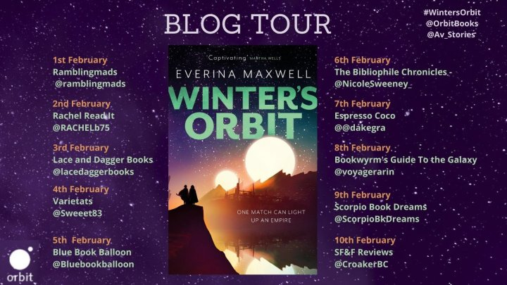 Blog Tour: Winter's Orbit by Everina Maxwell