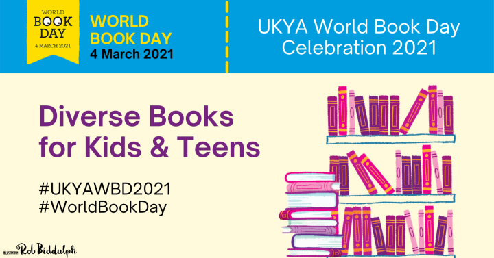 World Book Day Celebration: Diverse Books for Kids & Teens