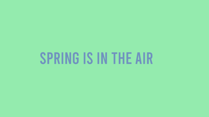 Spring is In The Air – Spring Feeling BookCovers!