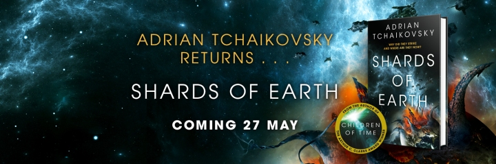 Blog Tour: Shards of Earth by Adrian Tchaikovsky +Giveaway