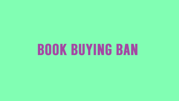 I Need to Stop – The Book BuyingBan