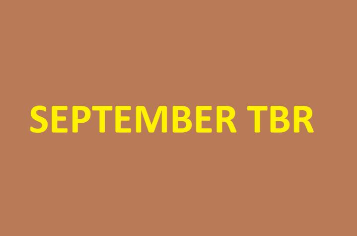 Mini TBR – SeptemberEdition
