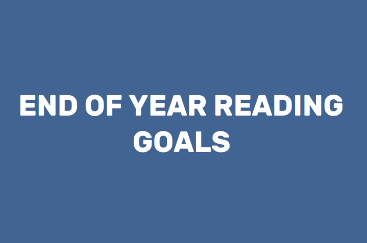 End of Year ReadingGoals