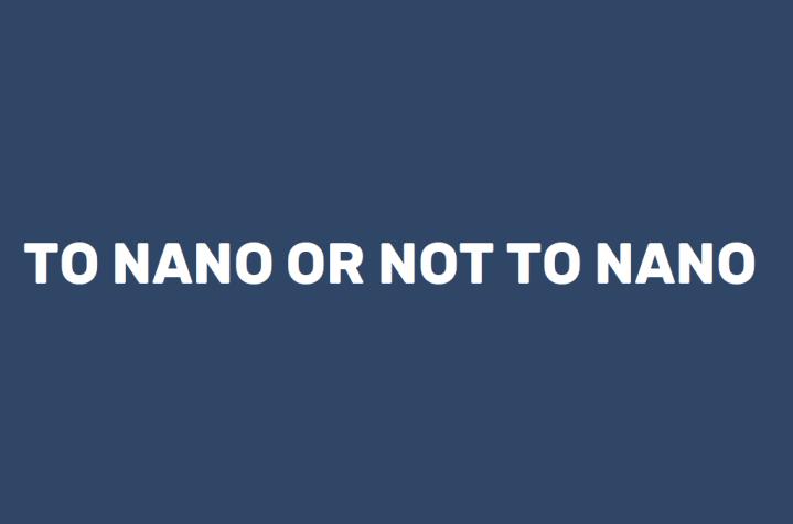 To NaNo or Not toNaNo?